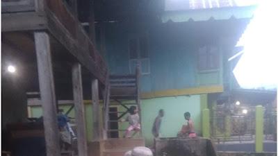 Program Seribu Jamban di Desa Lampar Baru