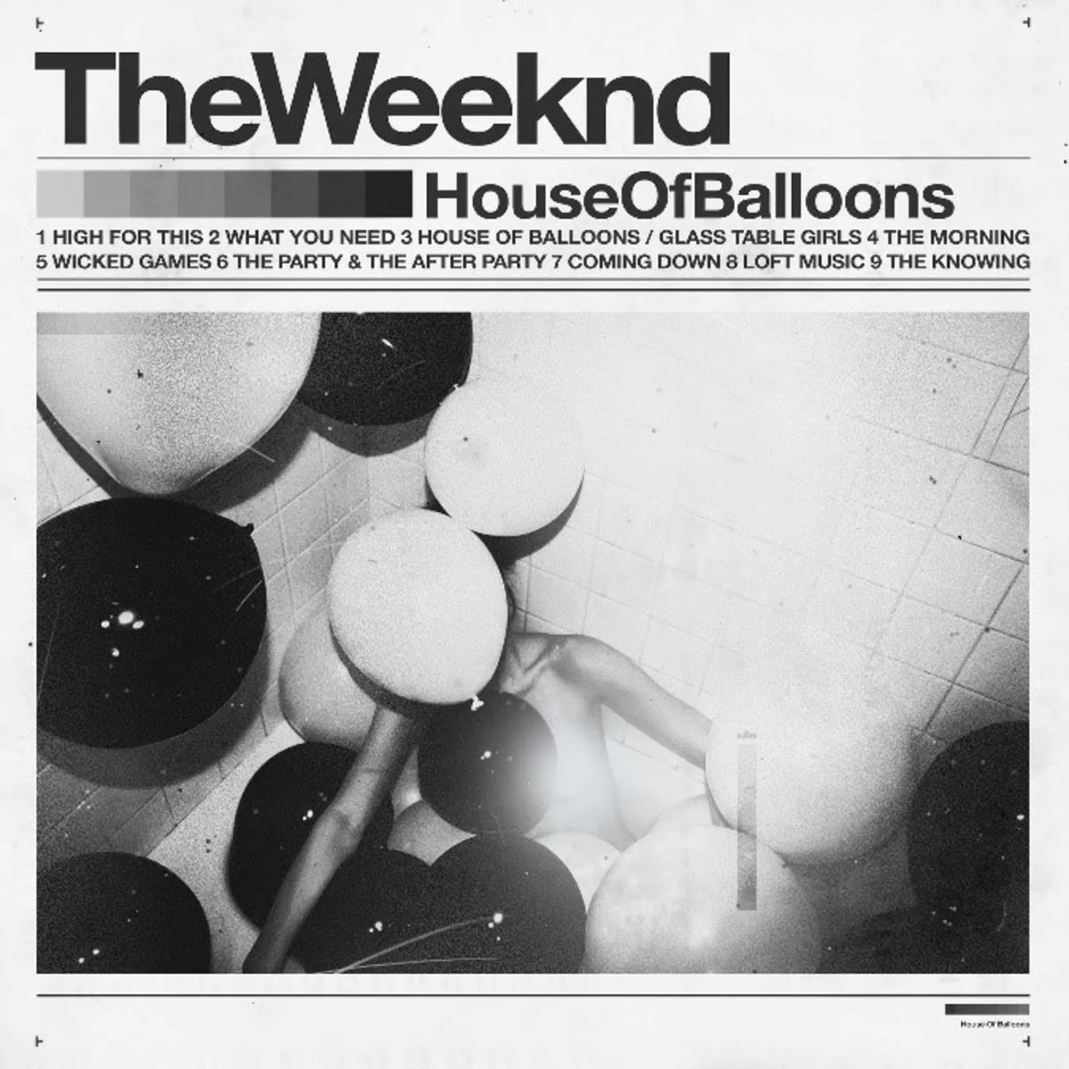 The Weeknd reissues house of balloons