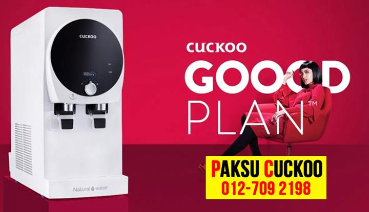 Kelebihan Penapis Air Cuckoo