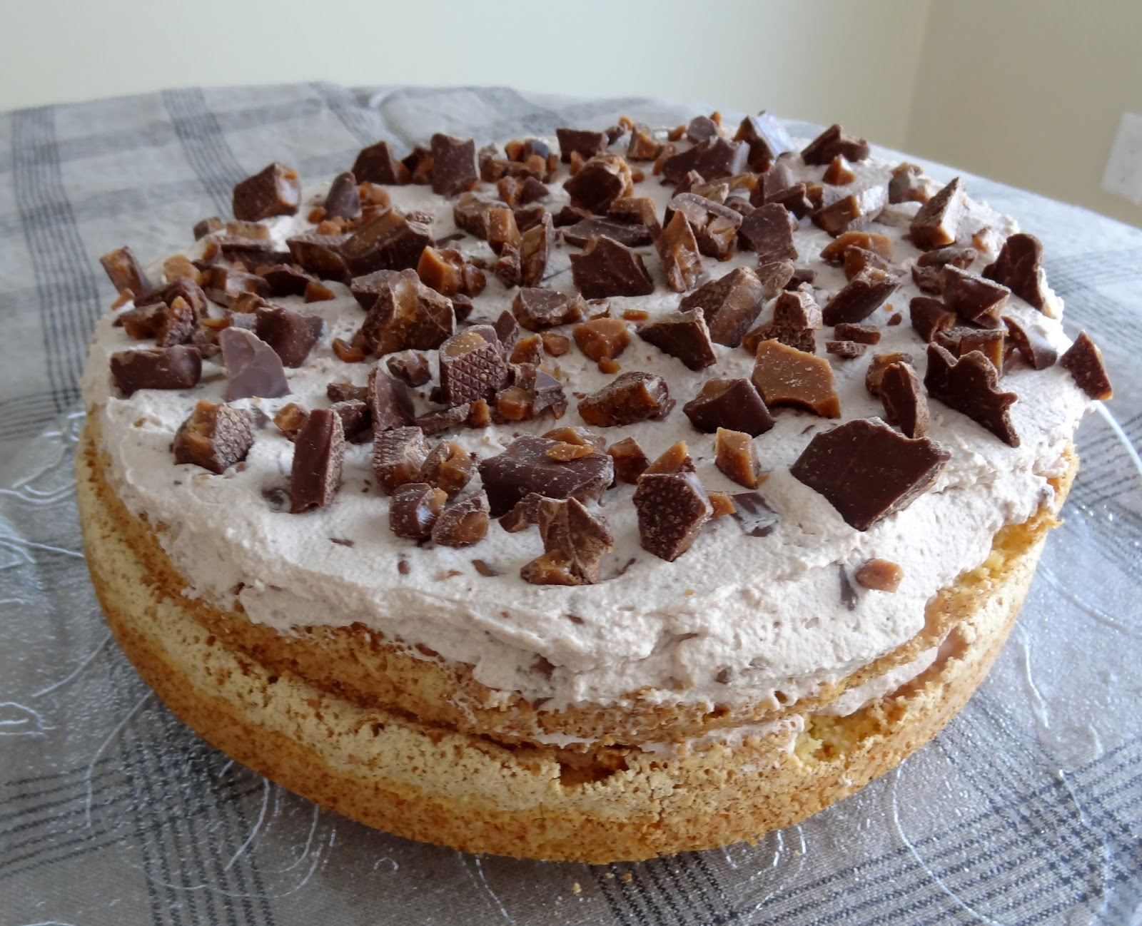 Daim Kuchen Skor Bar Cake Symphony And Why Ikea Sucks The Food Method