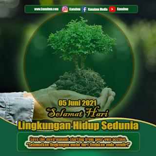 poster hari lingkungan hidup sedunia psd - kanalmu