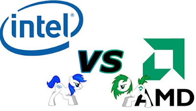 prosesor intel dan amd