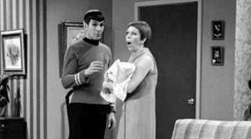 Carol Burnett and Spock