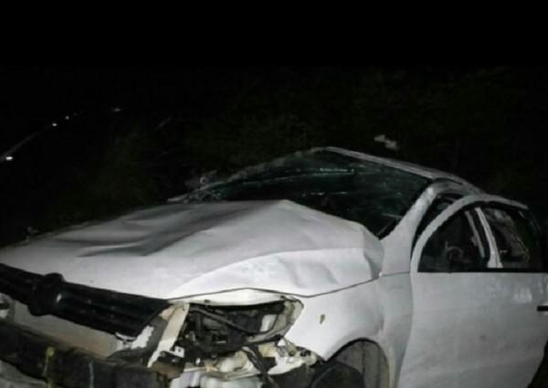 Advogado morre em capotagem de carro em Quixelô, no interior do Ceará
