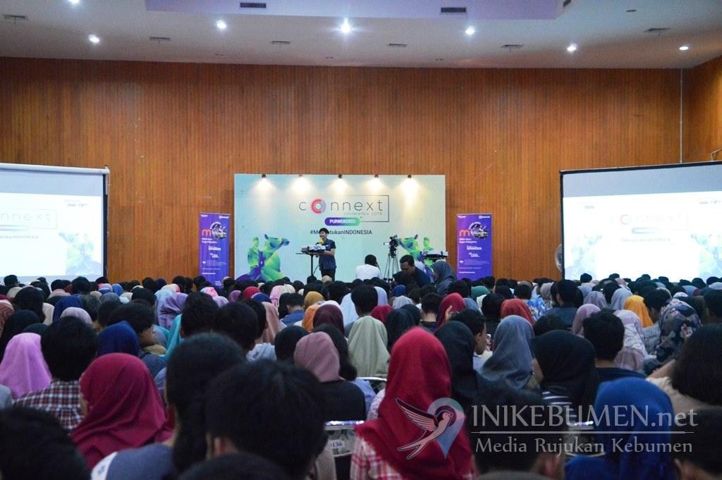 Seminar Insipirasi Connext Conference Disambut Antusias Anak Muda Purwokerto