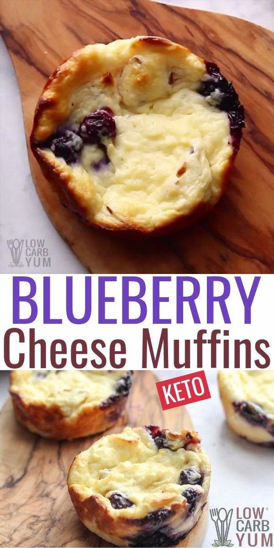 Blueberry Cheese Muffins Recipes
