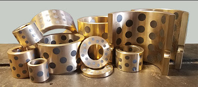 types of flanged bushings
