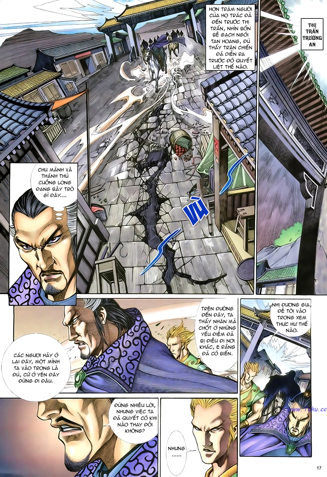 Anh hùng vô lệ Chap 21 trang 18