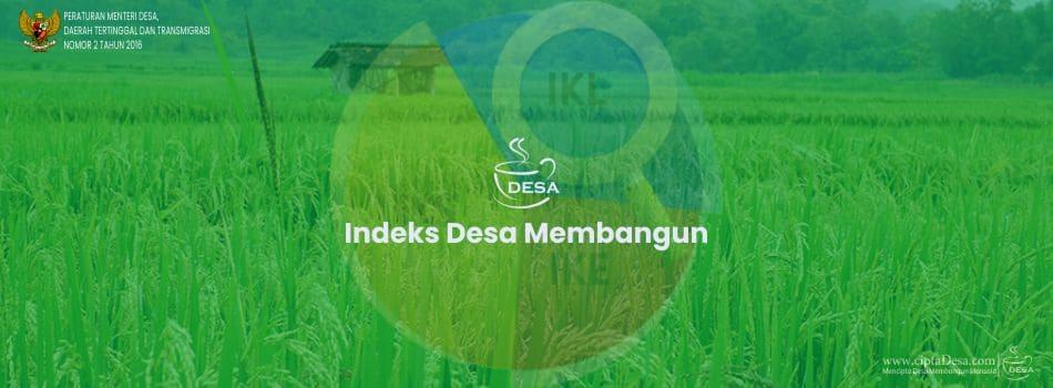 Permendesa PDTT Nomor 2 Tahun 2016 tentang IDM