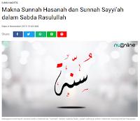 Makna Sunnah Hasanah dan Sunnah Sayyiah dalam Sabda Rasulullah - Kajian Sunnah Tarakan