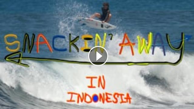 SHANE BORLAND - SNACKING AWAY IN INDONESIA