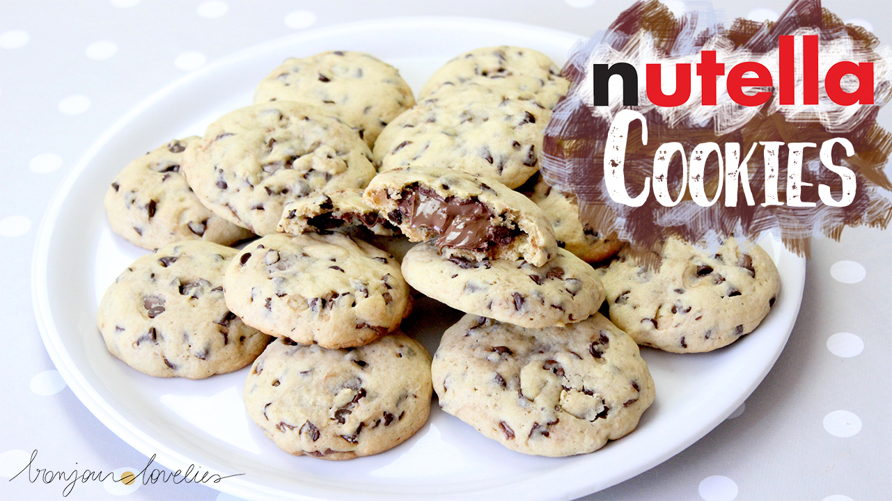 best nutella chocolate chip cookie recipe ever by a. Black Bedroom Furniture Sets. Home Design Ideas