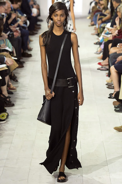 Michael Kors Collection SS 2016 black dress