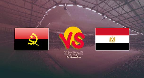 نتيجة مباراة مصر وانغولا بث مباشر بتاريخ 01-09-2021 في تصفيات أفريقيا لكأس العالم 2022