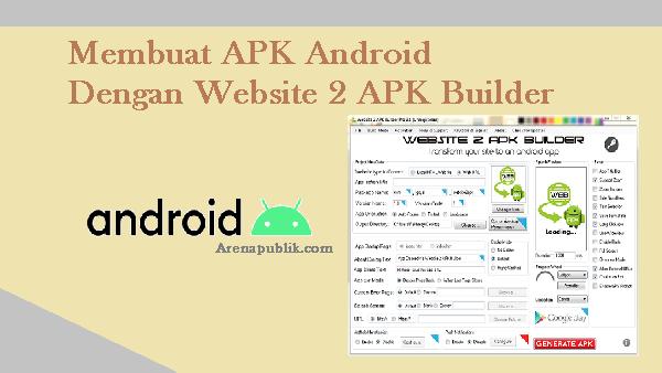 Membuat APK Android Dengan Mudah Tanpa Coding