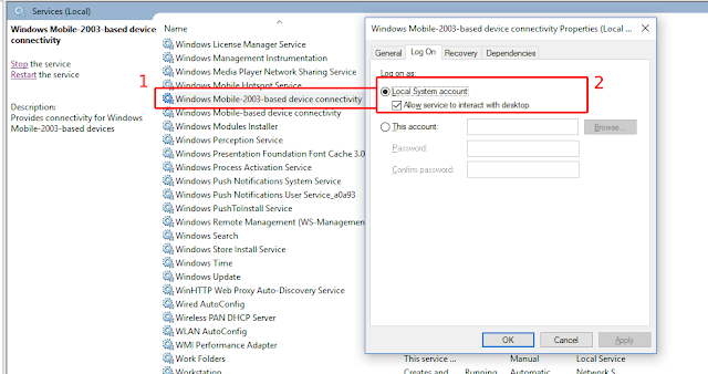 my windows mobile device centre not working_techprit
