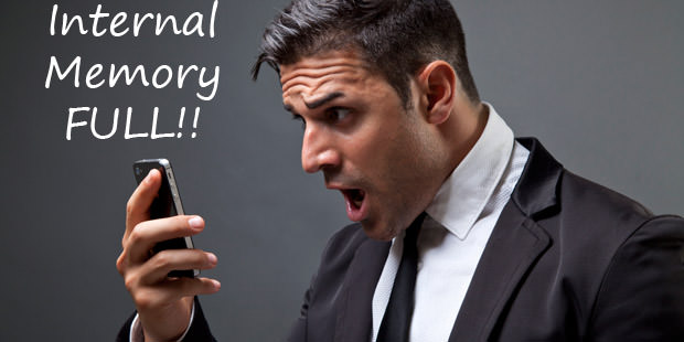 Internal memory problem in smart phone