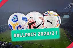 NEW Ballpack 2020-2021 - PES 2017
