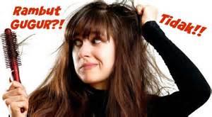 Punca sebenar masalah rambut gugur
