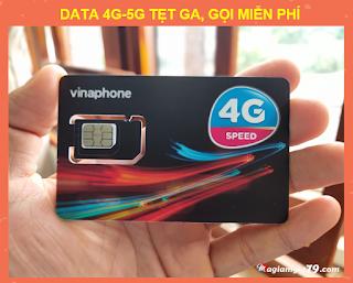 Sim Vinaphone 50k/Tháng, Không giới hạn dung lượng