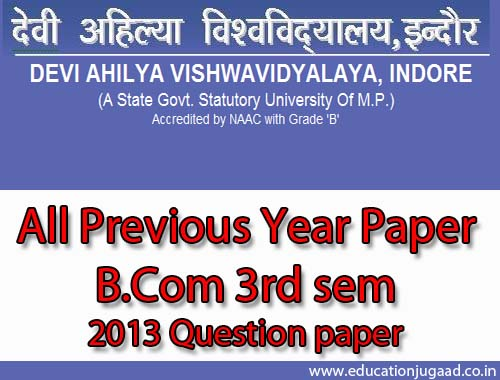 davv-b.com-3sem-previous-year-paper-education-jugaad-2013