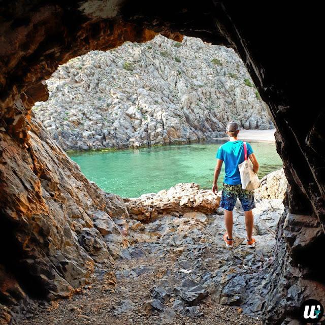 Cala Domestica Small Cave (Grotta Spiaggetta), Buggerru | Sardinia, Italy | wayamaya