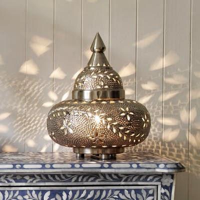 A gorgeous detailed Moroccan lantern | Lindsay Eryn