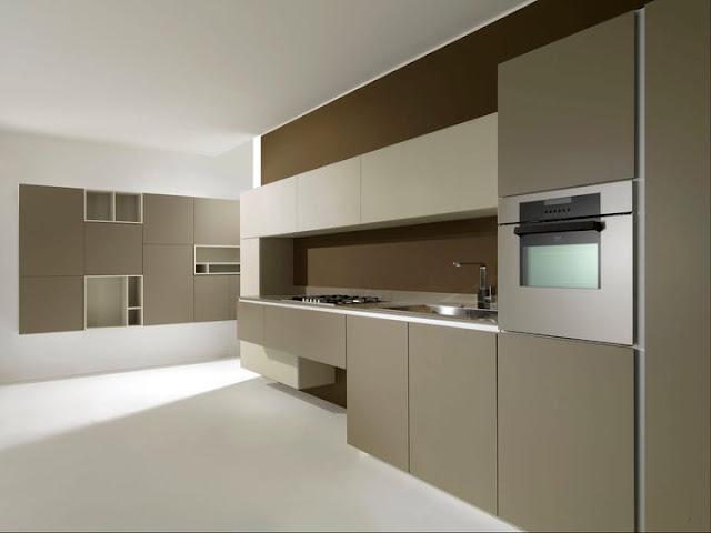 Colores tierra en la cocina moderna cocinas con estilo for Color credence cocina blanca