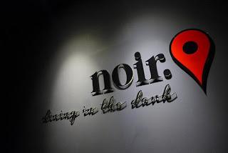 Noir Restaurant  Eating in the Dark District 1 Saigon Vietnam