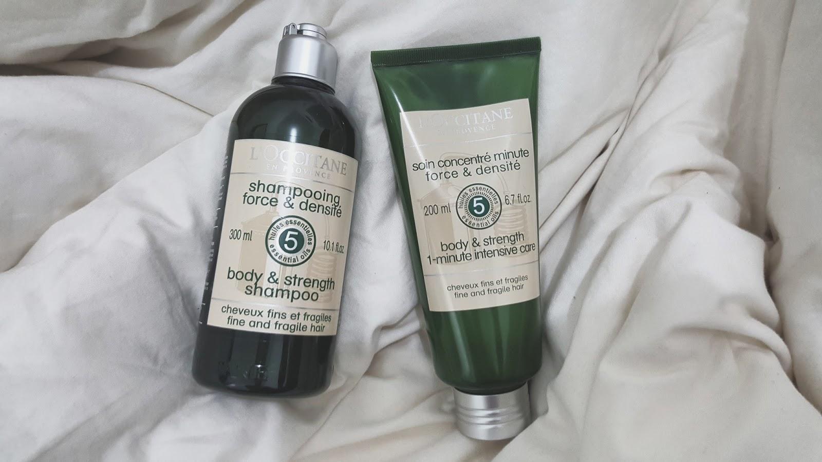 Image result for L'Occitane Body & Strength Shampoo