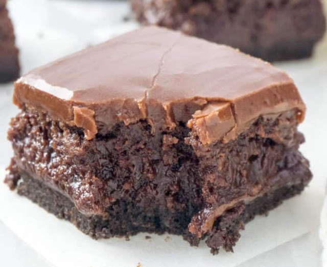 Lunch Lady Brownies #brownies #desserts