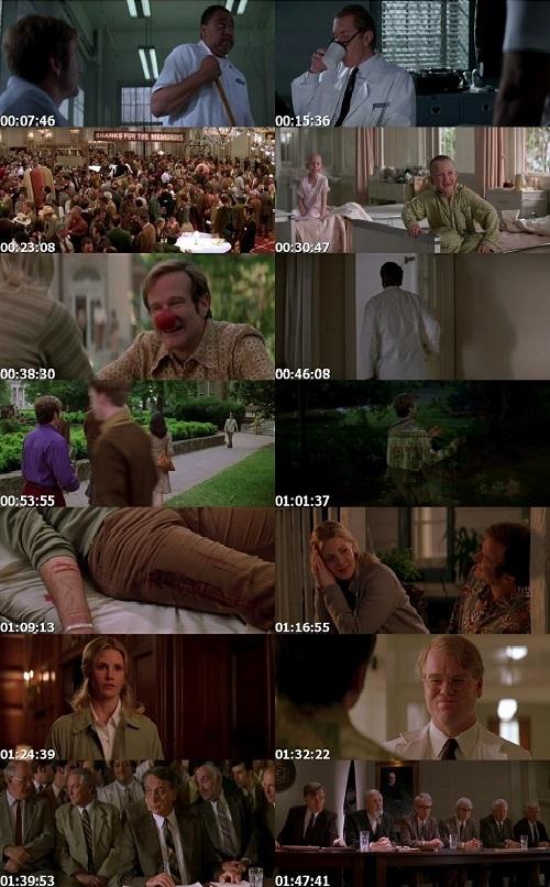 Screen Shot Of Patch Adams 1998 In Hindi English Dual Audio Bluray