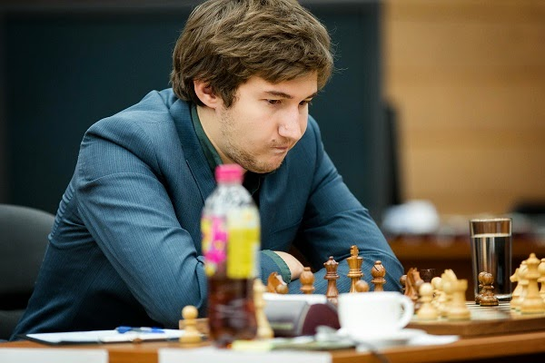 Échecs : Sergey Karjakin en perdition - Photo © Kirill Merkurev