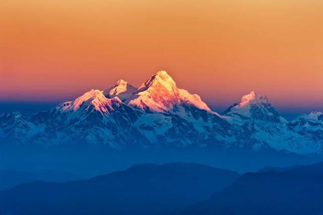 Ahora se puede ver el Himalaya desde India gracias a la bajada de la contaminación