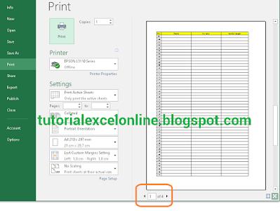 Cara Membuat Baris Pertama Tabel Otomatis Jadi Judul Header di Tiap Halaman Excel Saat Dicetak/print