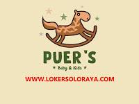 Lowongan Kerja Solo Staff Gudang di PUER'S Baby & Kids