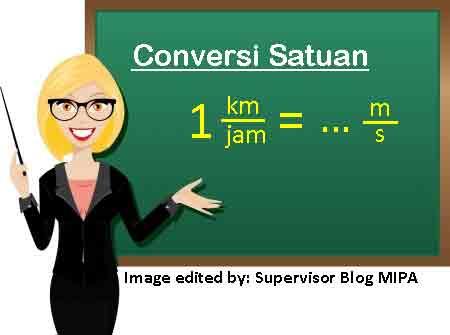 Cara Konversi Satuan Besaran Fisika dari Sistem MKS ke CGS atau Satuan Lainnya