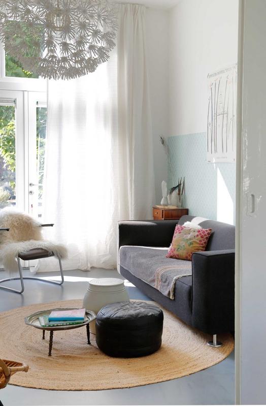 Un interior holandés y exótico