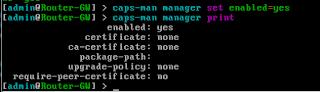 Aktifkan CAPsMAN