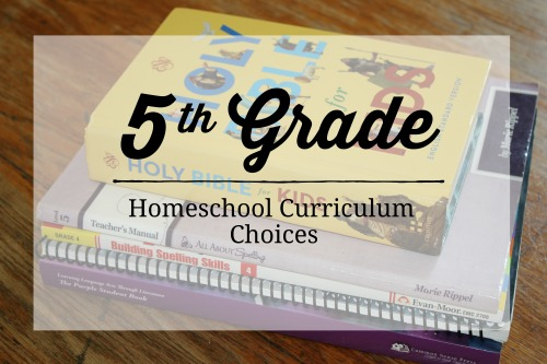 5th Grade Homeschool Curriculum Choices 2019-2020 #curriculum #homeschool #homeeducation