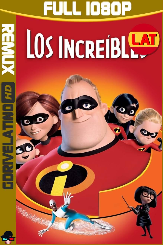 Los Increíbles (2004) BDRemux 1080p Latino-Ingles MKV