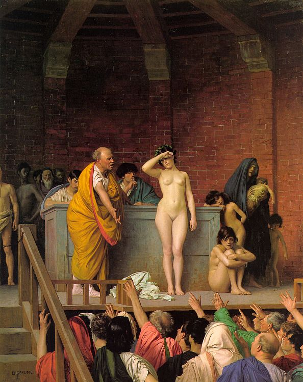 nude slave girls drawings