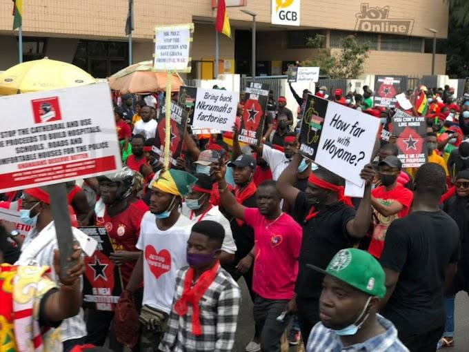 #FixTheCountry demonstration underway in Accra