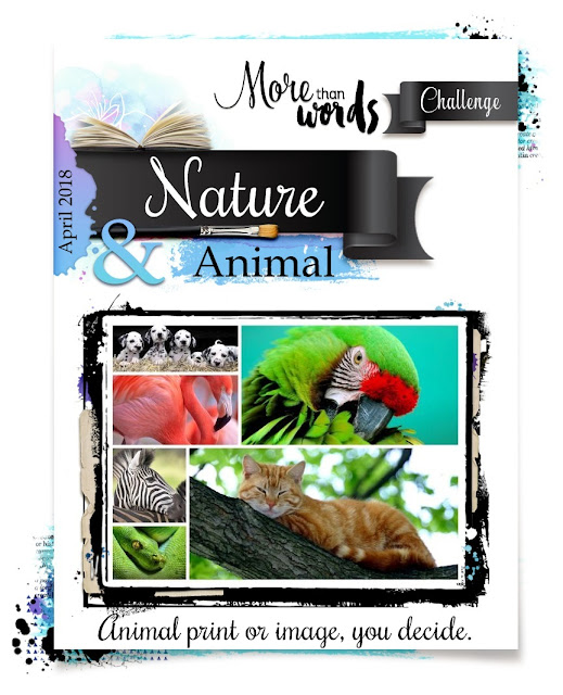 April 2018 Main Challenge  NATURE & ANIMAL
