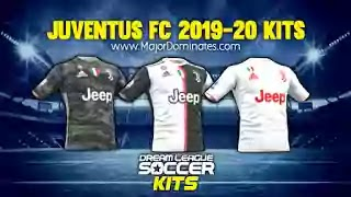 Download juventus new home and away kit 19-20 for dream league soccer 2019