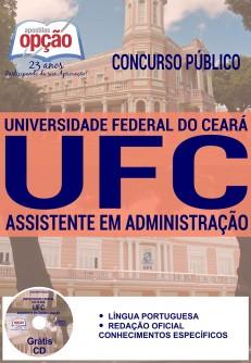 Apostila UFC Concurso 2016 - Assistente em Administração
