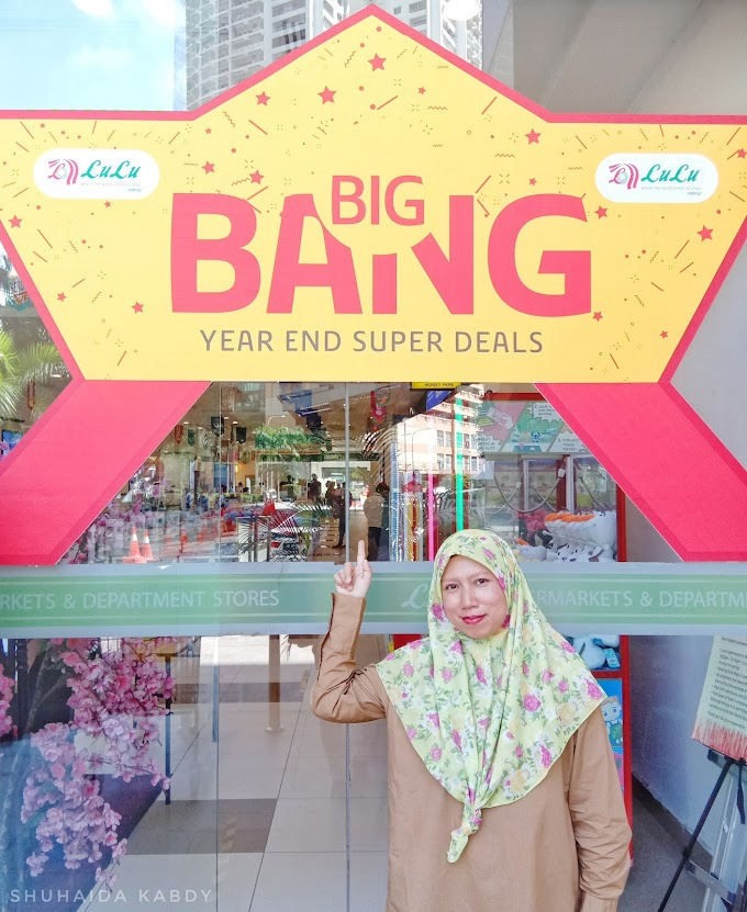 Tawaran Hebat Big Bang Sale Hujung Tahun Bersama Lulu Hypermarket