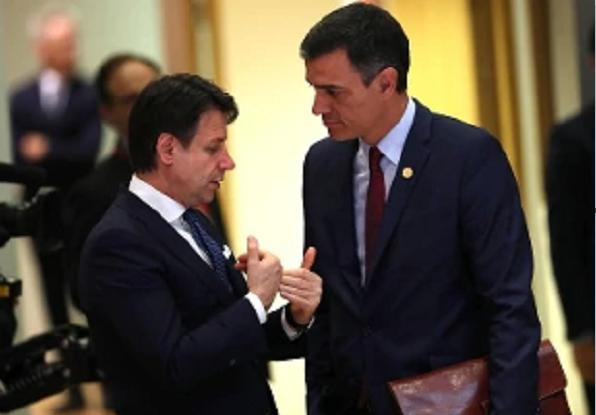 Conte e Sanchez insistono sul Recovery Fund
