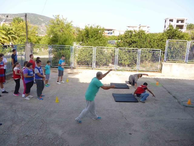 Με αθλητικές δραστηριότητες η Πανελλήνια Ημέρα Σχολικού Αθλητισμού στο Ειδικό Επαγγελματικό Γυμνάσιο Αργολίδας