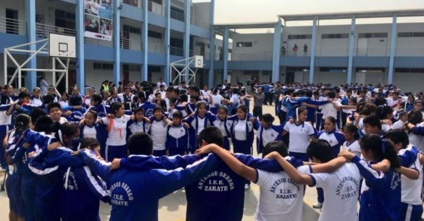 Más de 8 millones de escolares pusieron a prueba planes de contingencia frente a sismos
